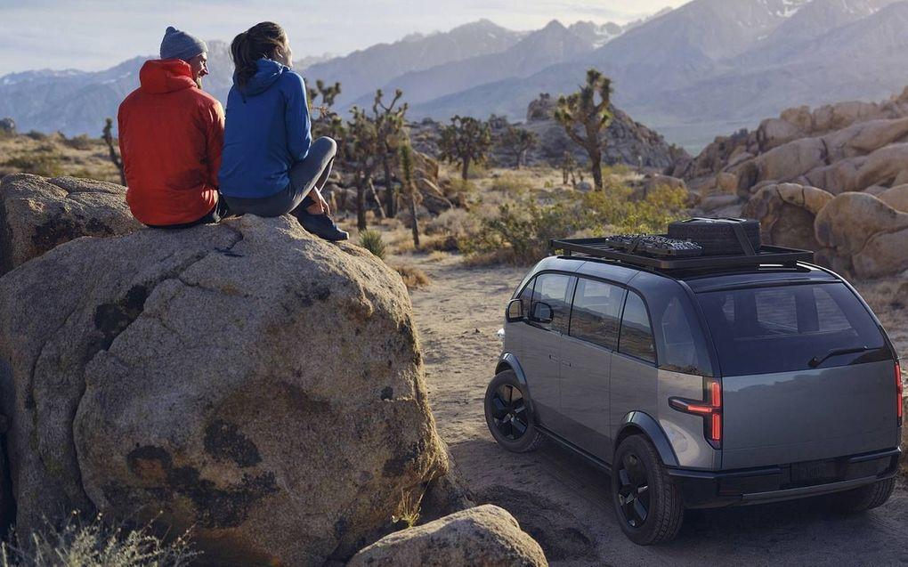 Bij VDL Nedcar zal het zogeheten Lifestyle Vehicle worden gebouwd, een SUV met plaats voor maximaal zeven personen.beeld Canoo