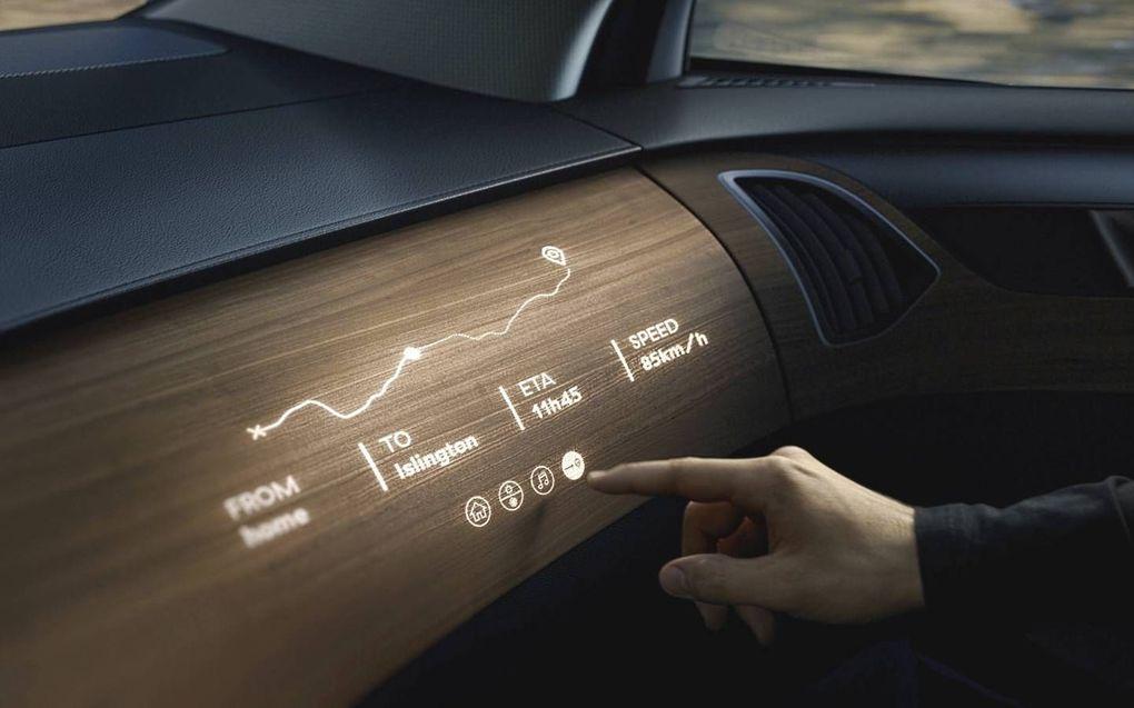 Het lage gewicht maakt transparant hout extra aantrekkelijk voor toepassing in auto's.beeld Woodoo