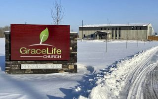 GraceLife Church in het Canadese Edmonton.beeld globalnews.ca
