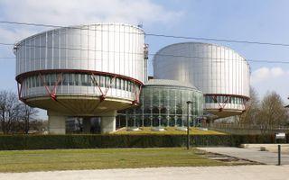 Het Europees Hof voor de Rechten van de Mens in Straatsburg. beeld Wikimedia