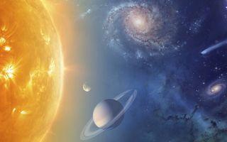 De hoogspecifieke complexiteit van het universum duidt op een God Die het doelbewust volgens een complex plan en rationele gedachten heeft geschapen, stelt de Duitse chemicus en filosoof Markus Widenmeyer. beeld NASA