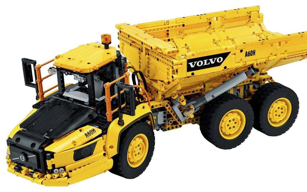LEGO Technic Volvo Kieptrailer.beeld LEGO.com