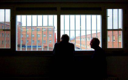 Gevangenissen en tbs-klinieken kampen met corona-uitbraken. beeld ANP