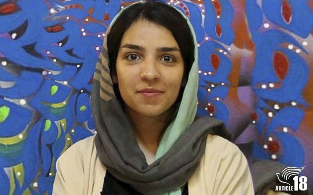 Fatemeh Mohammadi zit gevangen in de Qarchak-gevangenis, ten zuiden van de Iraanse hoofdstad Teheran.beeld Article18