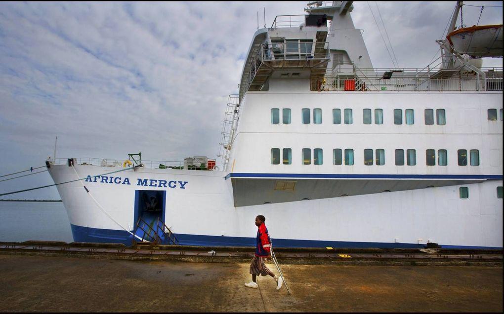 Hospitaalschip Africa Mercy. beeld ANP, Robin van Utrecht