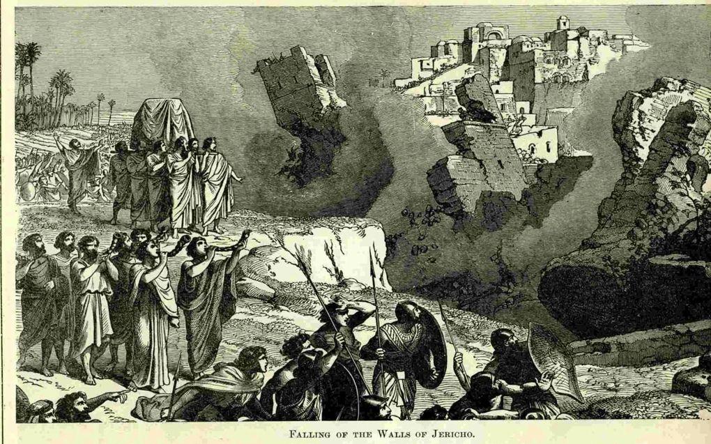 In zijn algemeenheid is de benadering van de historiciteit van de gebeurtenissen in de Bijbel, zoals de val van Jericho, erg eenzijdig, met te weinig aandacht voor de context. beeld RD
