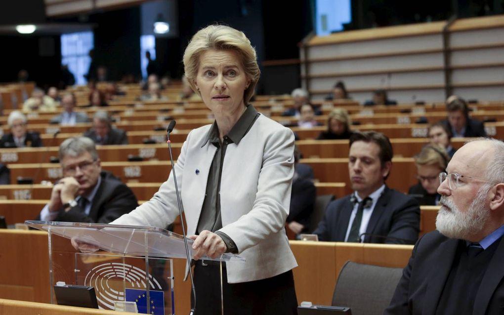 Ursula Von der Leyen. beeld EPA