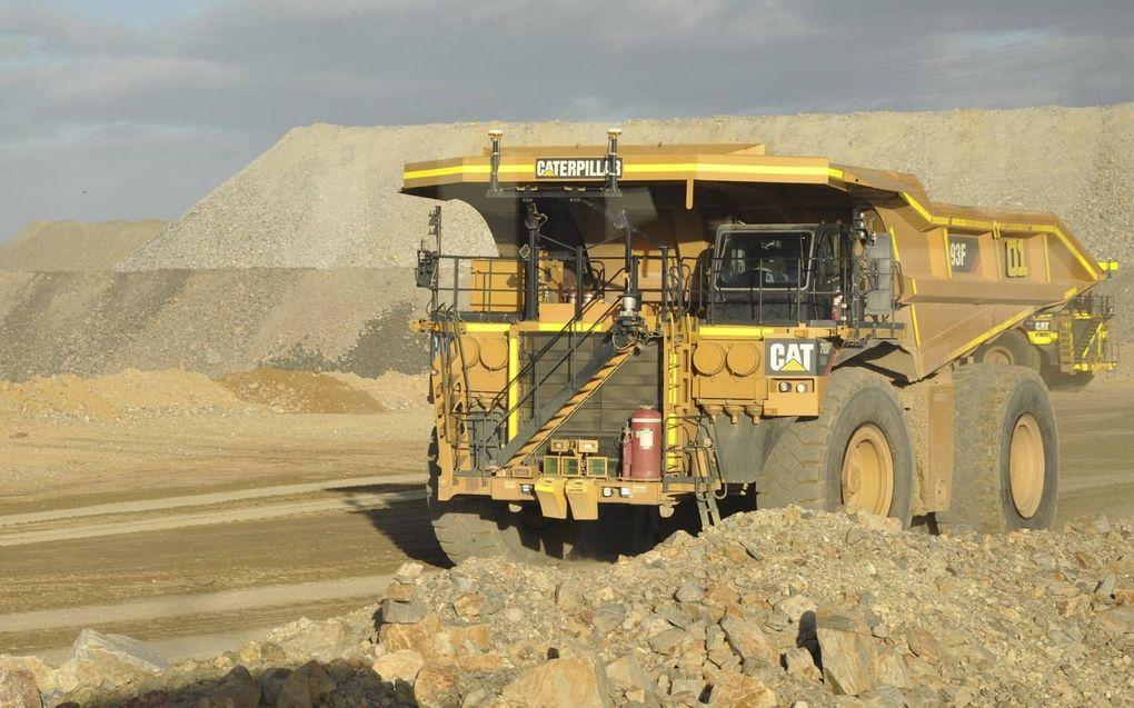 IJzerertsproducent Rio Tinto zou illegaal grotten opblazen.beeld EPA