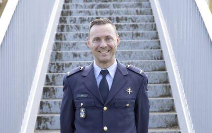 Ds. M. P. D. Barth is legerpredikant in de Nederlandse krijgsmacht.  beeld RD, Anton Dommerholt