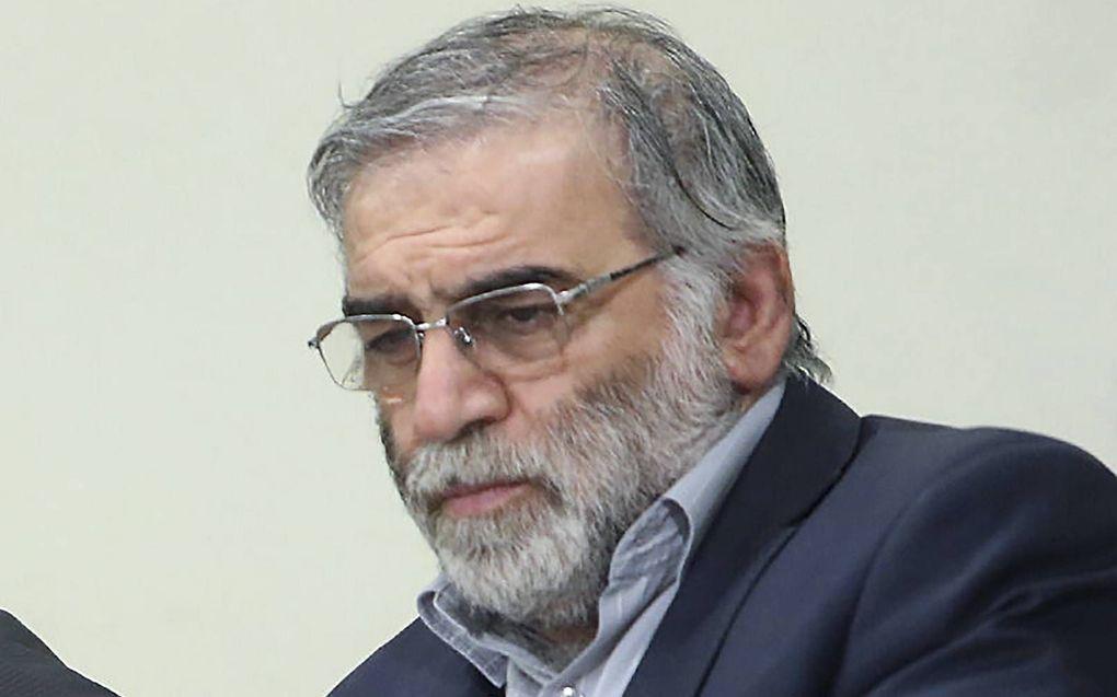 Mohsen Fakhrizadeh. beeld AFP, Khamenei.ir