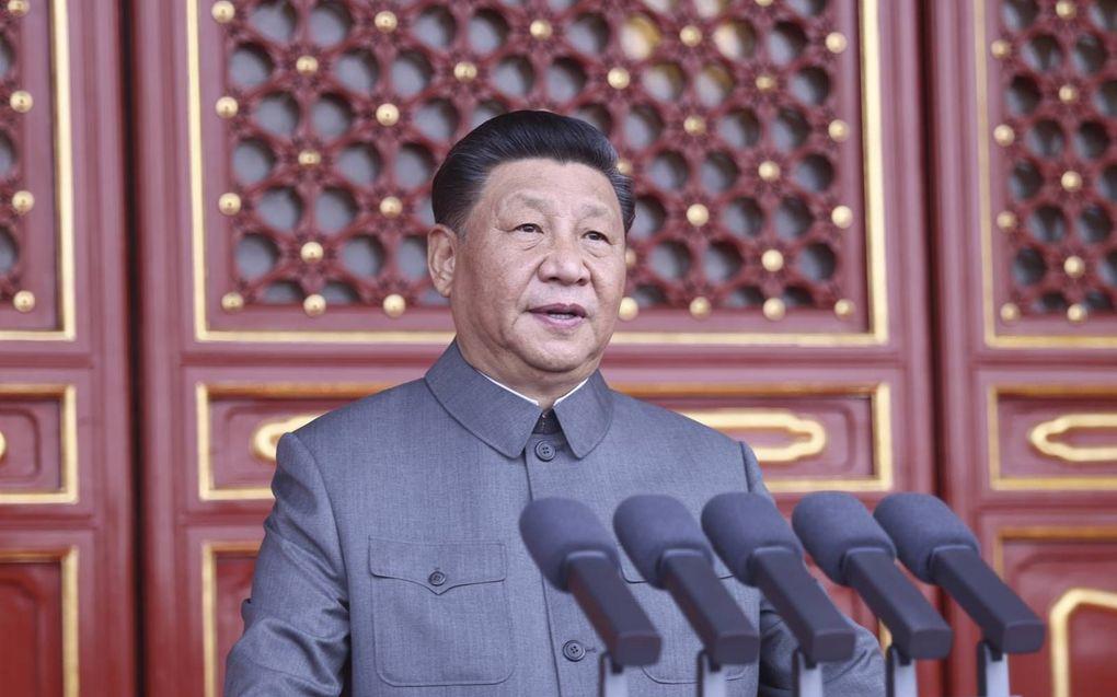 Onder Xi Jinping nam vervolging toe.beeld EPA, Ju Peng