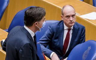 VVD-voorman Rutte en zijn ChristenUnie-collega Rutte. beeld ANP, Bart Maat