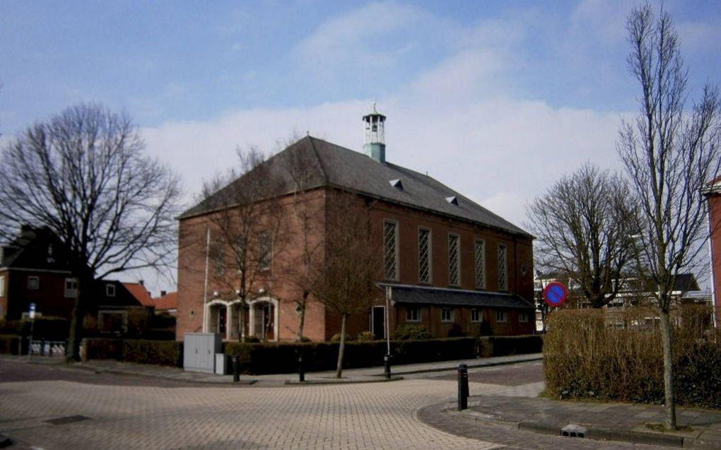 De Maranathakerk in Rijnsburg.beeld gereformeerdekerken.info