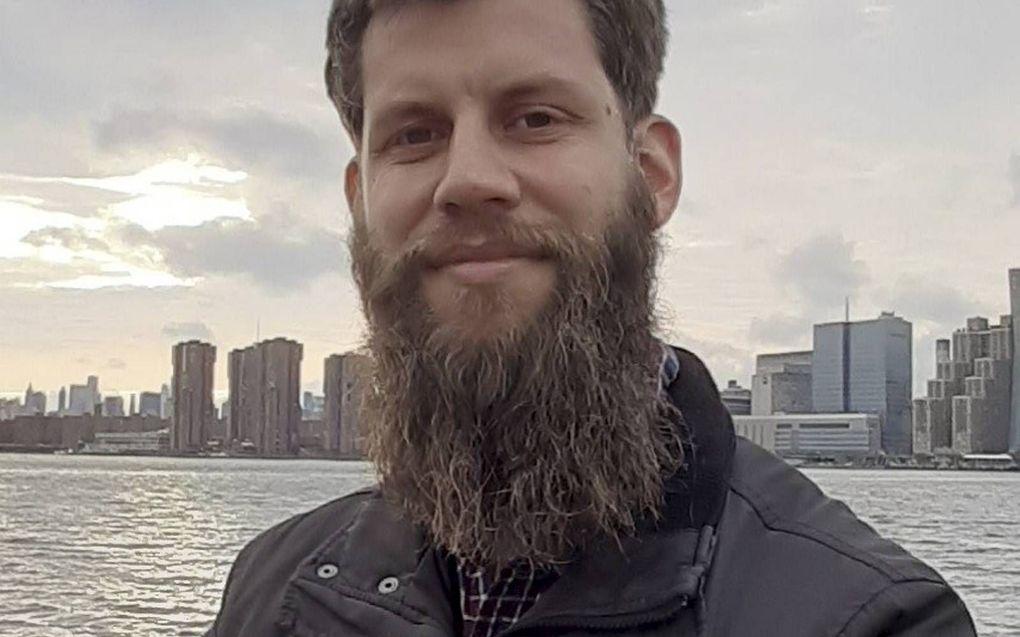 Bram van den Heuvel werkt in New York aan een promotieonderzoek naar het verband tussen vloedverhalen wereldwijd.beeld Bram van den Heuvel