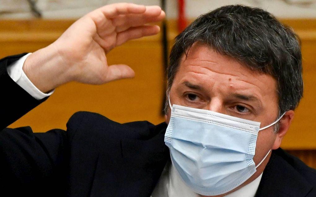 Matteo Renzi van Italia Viva.beeld AFP, Alberto Pizzoli