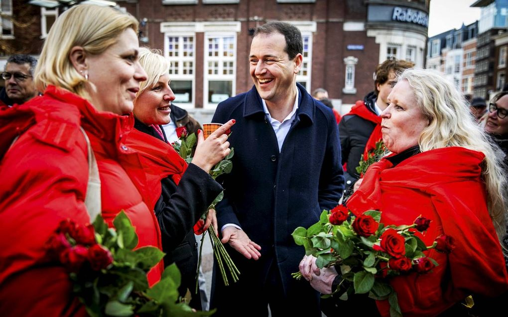De rode draad in het politieke werk van Asscher is verheffen en participeren. beeld ANP