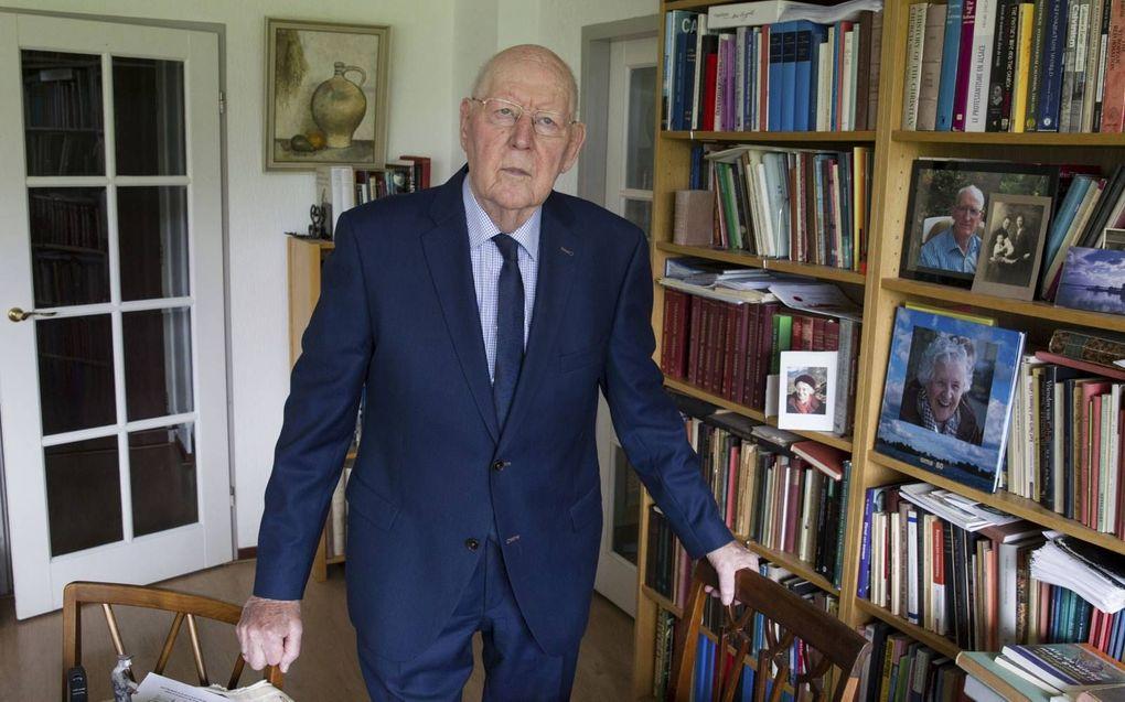 Prof. dr. W. Balke. beeld RD, Anton Dommerholt