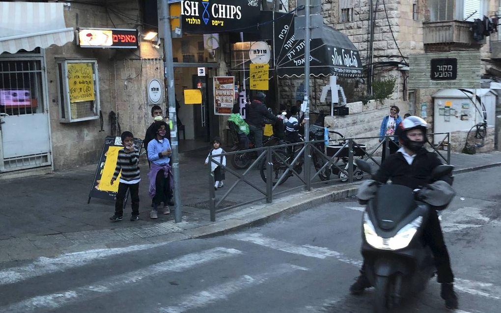 Vaccinatiebereidheid Israël lijkt af te nemen.beeld Alfred Muller