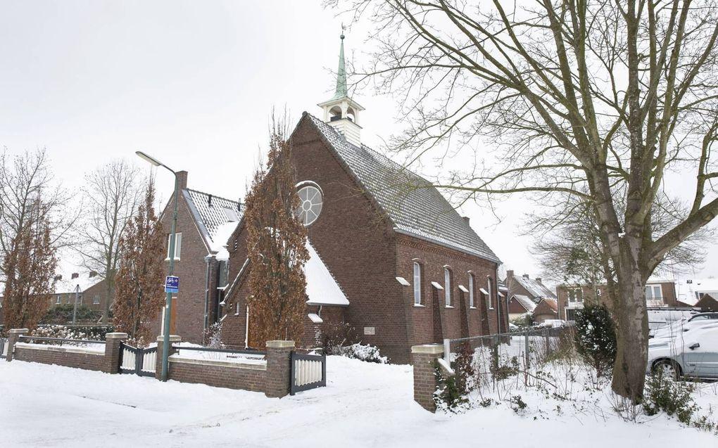 Kerk in de bouwstijl van de Utrechtse school.beeld RD, Anton Dommerholt