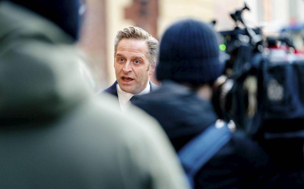 Demissionair zorgminister De Jonge. beeld ANP, Bart Maat