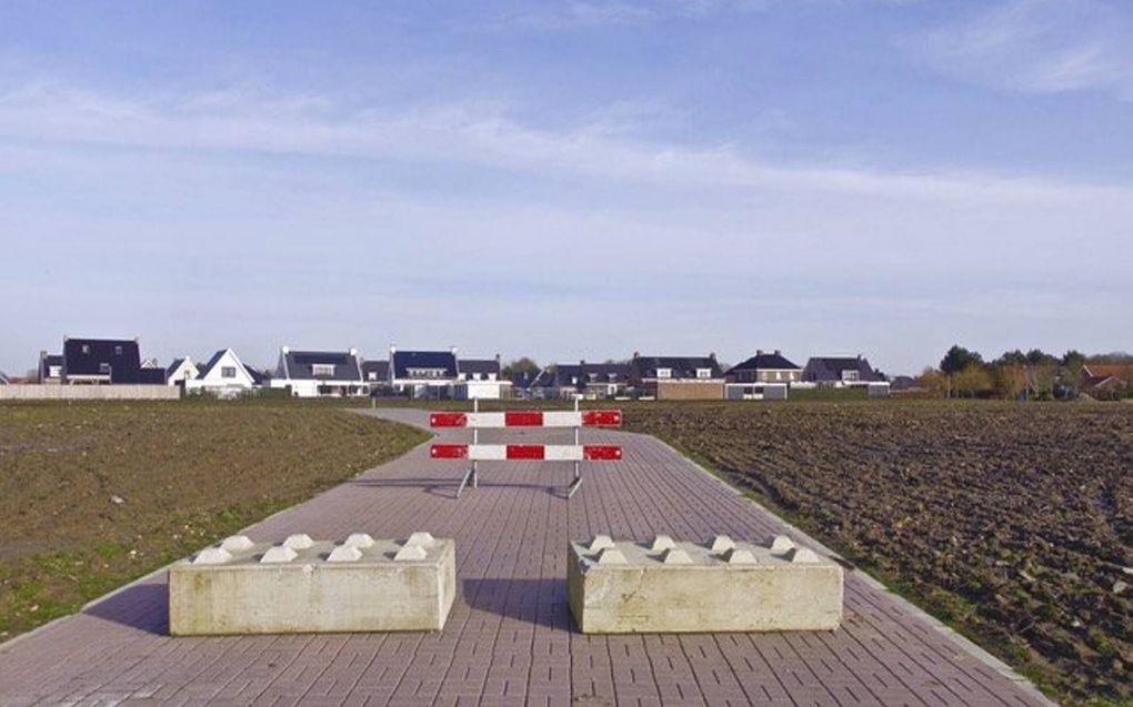 De gemeente Yerseke maakte een fout bij de loting van kavels in de gewilde nieuwbouwwijk Steehof III.beeld BOVS