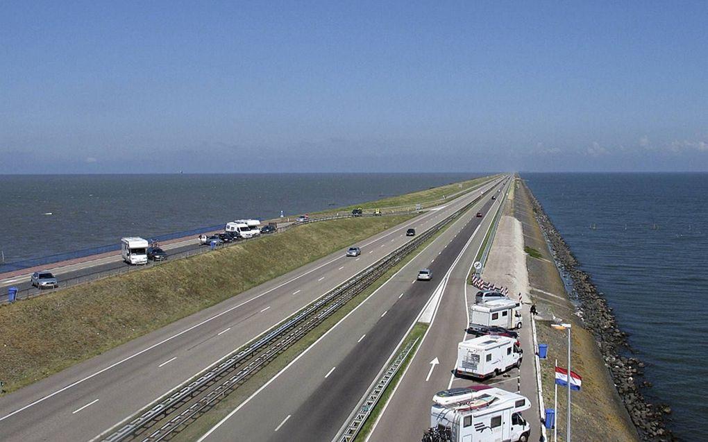 Afsluitdijk. beeld Wikimedia