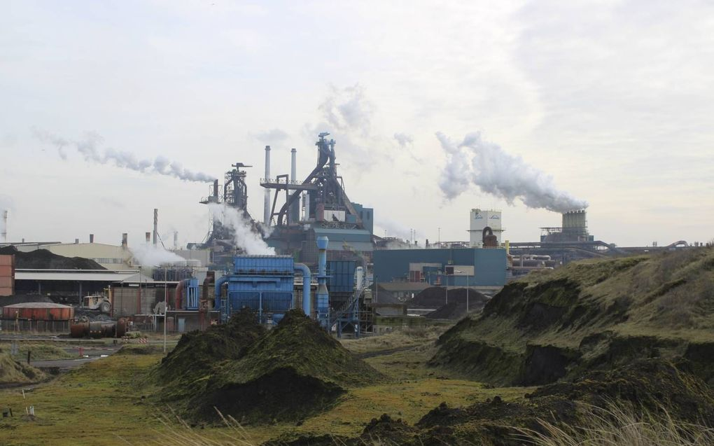 Staalfabriek Tata Steel. beeld Floris Akkerman