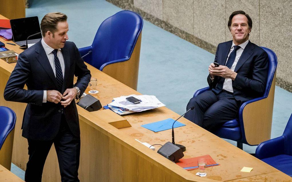 """""""Het omzeilen van de democratische controle door het kabinet maakt zelden onderdeel uit van het debat over de bestrijding van de coronacrisis."""" beeld ANP, Bart Maat"""