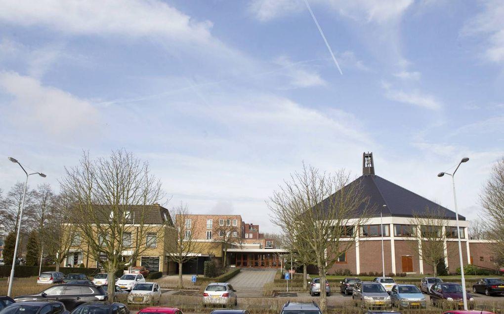 Het kerkgebouw van de oud gereformeerde gemeente in Nederland te Krimpen aan den IJssel. beeld RD, Anton Dommerholt