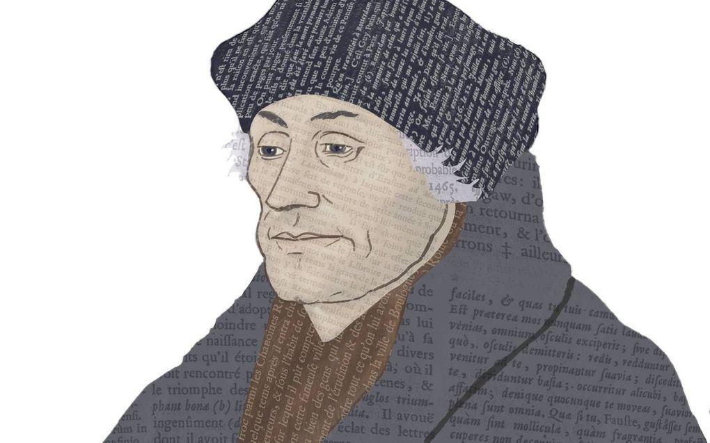 Erasmus van Rotterdam (ca. 1469-1536).beeld RD, Jos Ansink