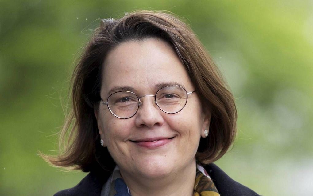 Prof. dr. Renée van Schoonhoven. beeld VU