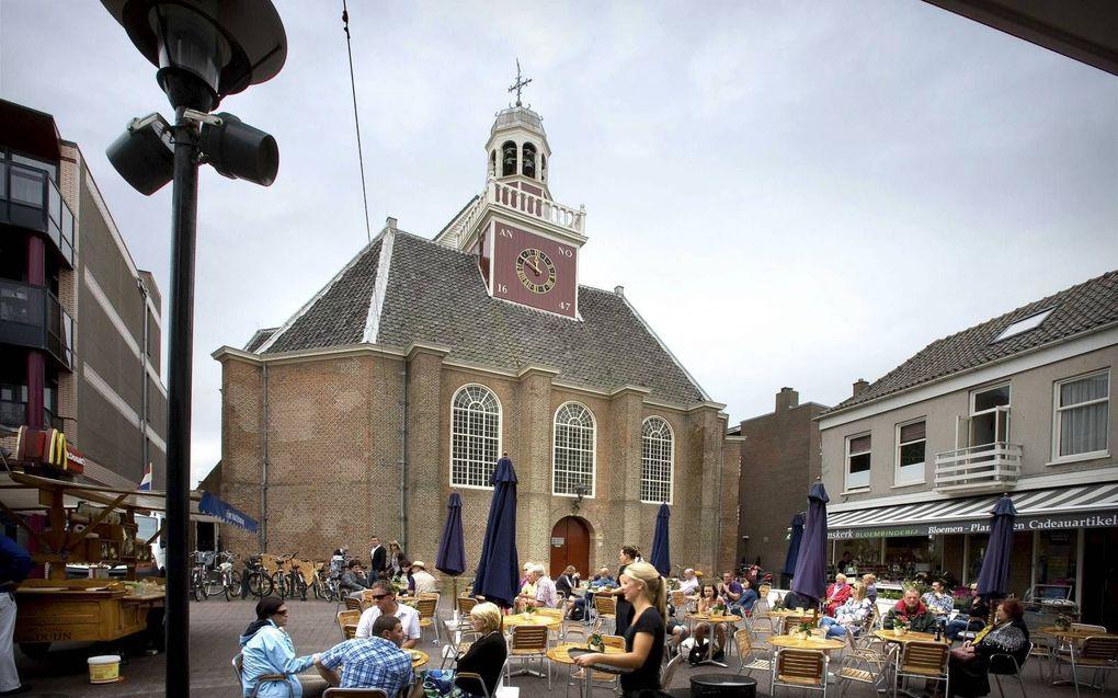 Een marktplein in Noordwijk.beeld RD, Henk Visscher