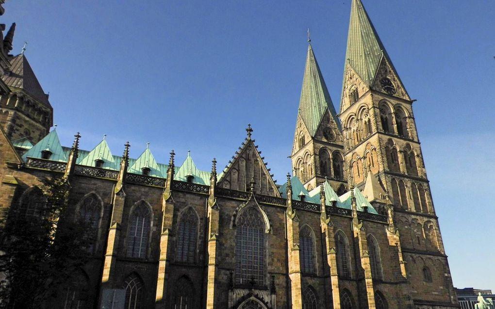 De Sankt Petri Dom in Bremen, waar Heinz Weidemann predikant was.beeld Wikimedia