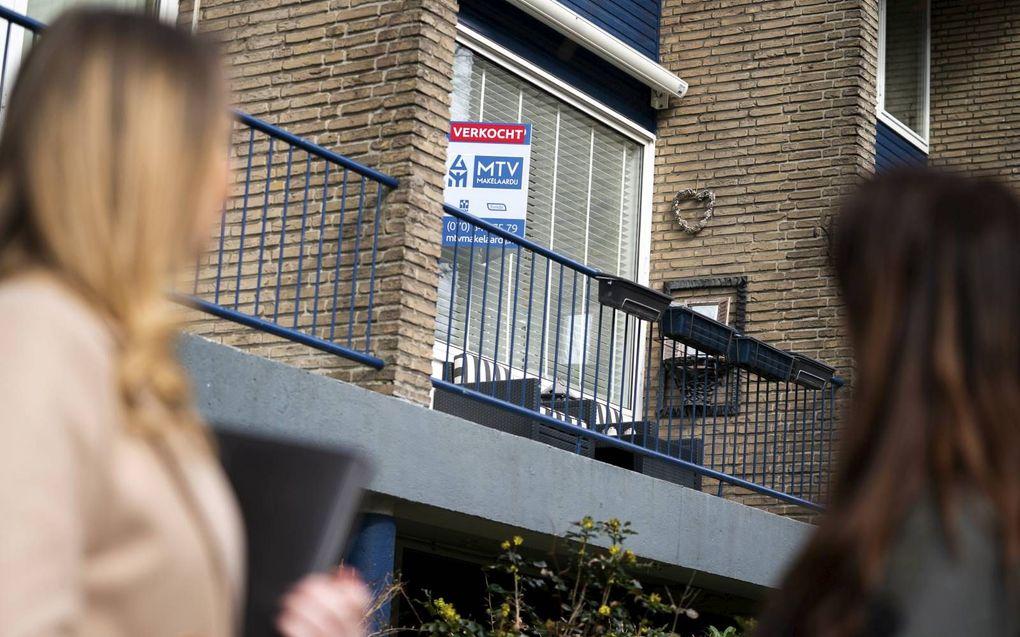 Het planbureau oppert om de aflossingseis voor huizenkopers af te zwakken. beeld ANP, Jeroen Jumelet