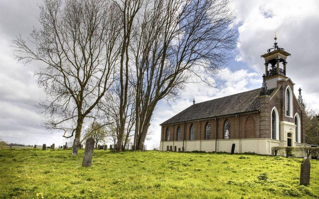 Het huidige kerkgebouw werd gebouwd in 1863. beeld RD, Henk Visscher