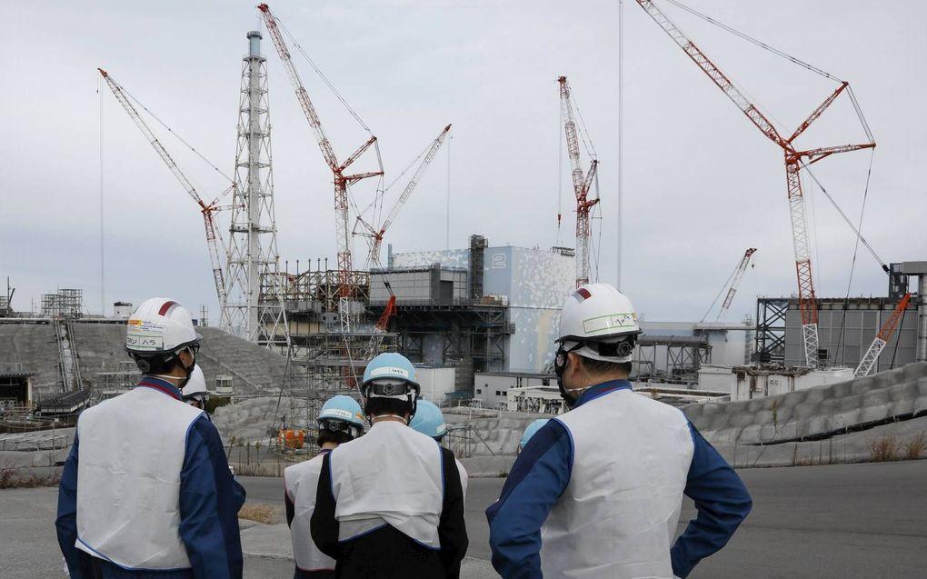Bij de kernramp in Fukushima Daiichi overleed niemand aan de gevolgen van radioactieve straling. beeld EPA, Kimimasa Mayama