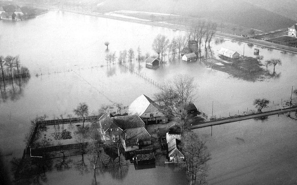 Rampen –zoals de watersnoodramp in 1953– inspireren tot het schrijven van liederen.beeld ANP