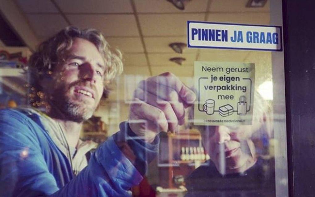 Er zijn veel creatieve manieren om de afvalberg te verminderen.beeld Zero Waste Nederland