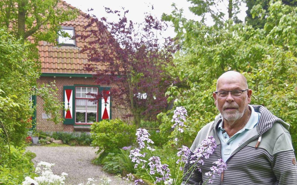 Kees Jacobse sluit na vijftig jaar zijn bezoektuin.beeld Van Scheyen Fotografie