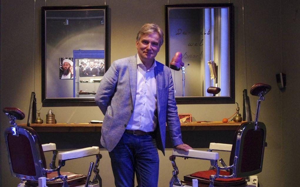 """Gerrit Dannenberg: """"Het Twents voegt een extra dimensie toe aan de gedichten."""" beeld EMG"""