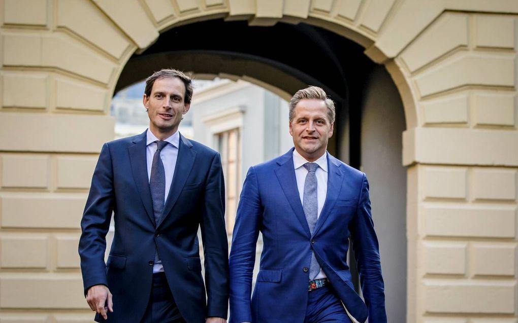 Hoekstra en De Jonge, beeld ANP, Bart Maat