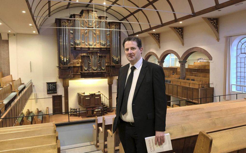 Dr. C. P. de Boer wordt docent aan het Hersteld Hervormd Seminarium.  beeld Sjaak Verboom