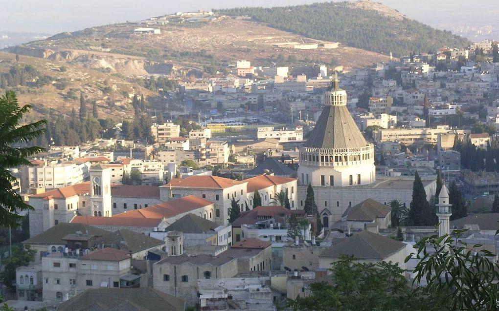Ds. M. L. Dekker werkt sinds 2004 in opdracht van het deputaatschap voor Israël van de Gereformeerde Gemeenten in Nazareth.beeld Alfred Muller