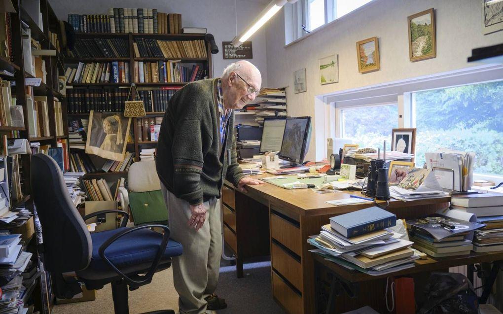 Dr. P. van Gurp (99) uit Dalfsen. beeld Sjaak Verboom