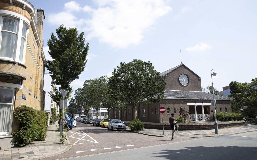 De christelijke gereformeerde Thaborkerk in Scheveningen. beeld RD, Anton Dommerholt