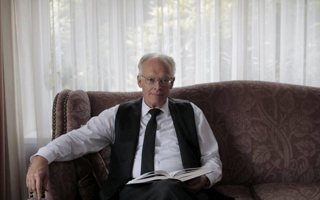 """Ds. A. Kort: """"Moet ik me gaan verdedigen tegen de leugen? Maar ik heb gewaarschuwd tegen alle zonden"""" (archieffoto).beeld H. P. Dekker"""