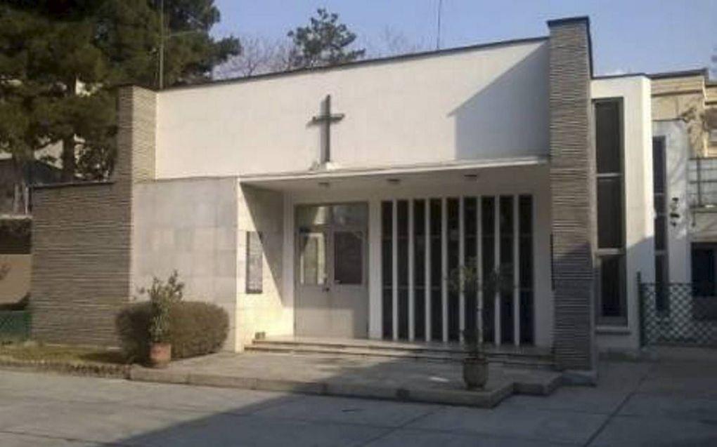 Kerk op terrein Italiaanse ambassade in Kabul.beeld Agenzia Fides