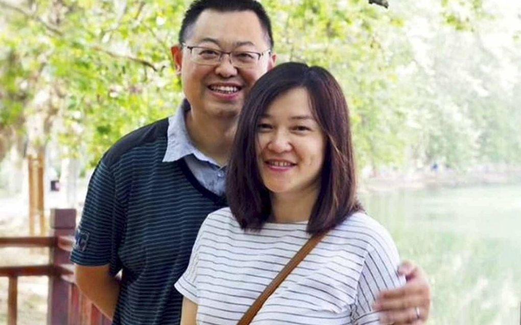 De Chinese predikant Wang Yi (l.) werd eind 2019 veroordeeld tot 9 jaar cel.beeld China Aid