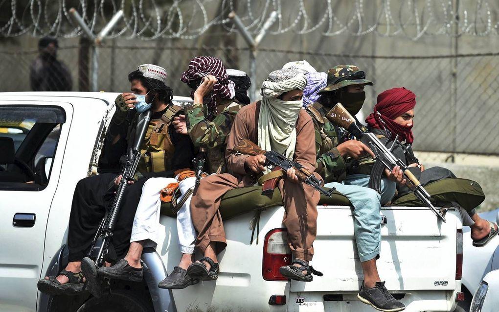 Opnieuw wordt de islam geassocieerd met het gewelddadig opleggen van gedrag.beeld AFP, Wakil Kohsar