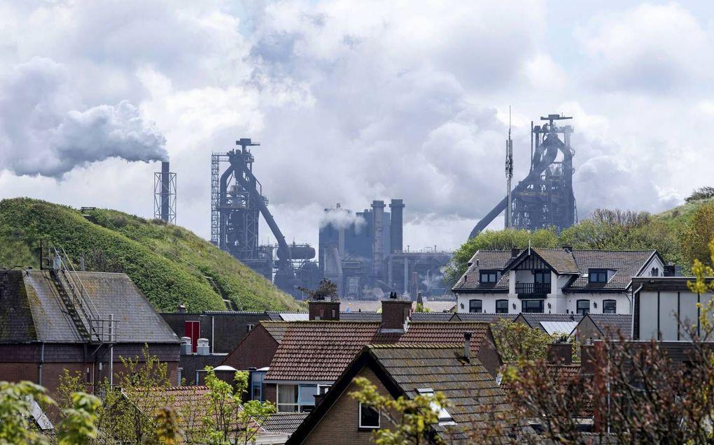 Tata Steel. beeld ANP, Olaf Kraak